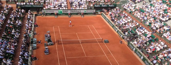 Stade Roland Garros is one of 2 do list # 2.