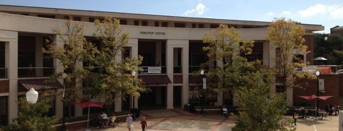 Ferguson Center is one of University of Alabama.