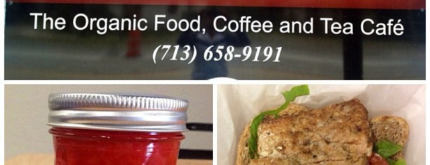 Conscious Cafe is one of Houston Press - 'We Love Food' - 2012.