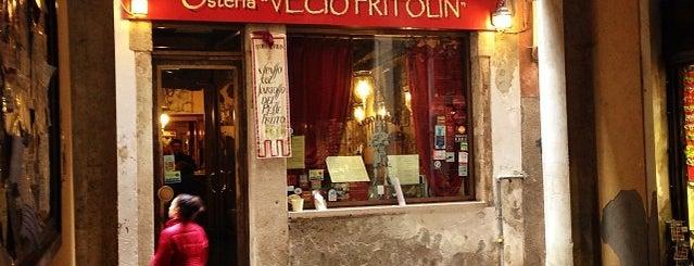 Vecio Fritolin is one of Venezia.