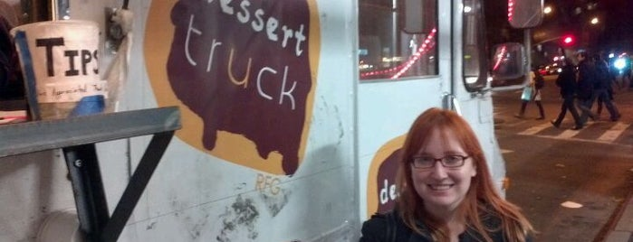 Dessert Truck is one of NYC Food on Wheels.