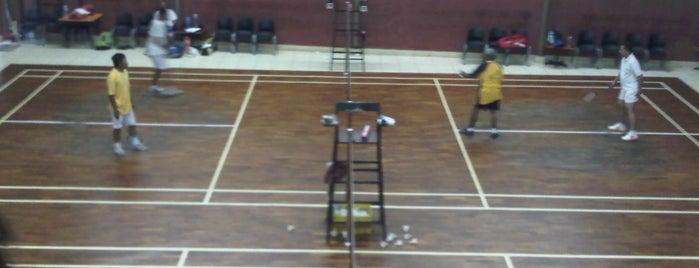 Pondarosa Badminton Hall is one of heru's Tips.