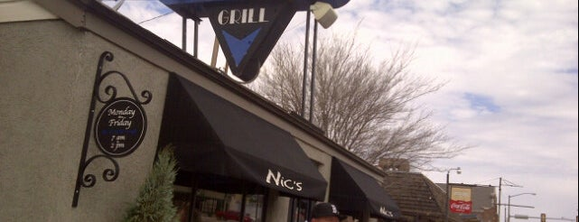 Nic's Grill is one of DINERS DRIVE-IN & DIVES 3.
