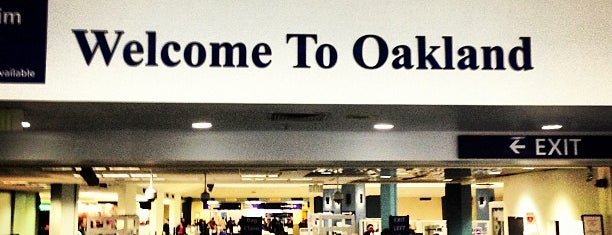 Oakland International Airport (OAK) is one of Lost in Transit.