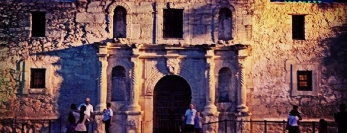 The Alamo is one of All-Time Favourite Places.