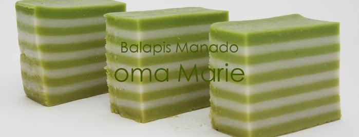 Balapis Manado oma Marie is one of Baker Dozen Badge in Jakarta.