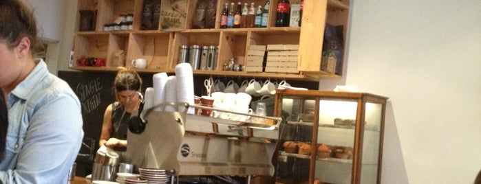 Eden Espresso is one of Coffee, Breakfasts and Lunch. Cafe's of the SE.