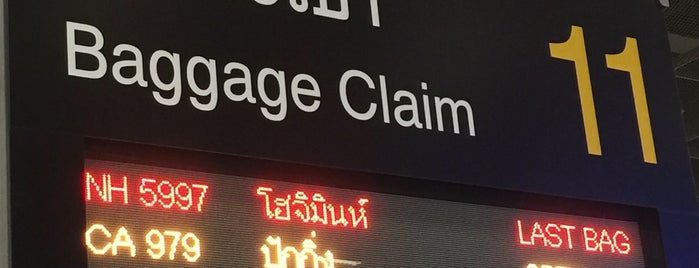Baggage Claim 11 is one of TH-Airport-BKK-1.