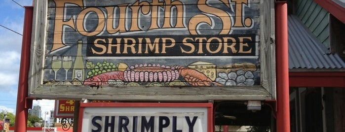 Fourth Street Shrimp Store is one of Best places in Saint Petersburg, Florida.