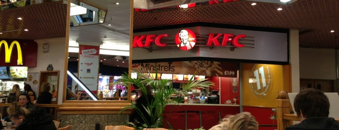 KFC is one of Top 10 favorites places in Liverpool, UK.