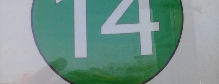 The Rapid - Route 14 (East) is one of Rapid Stops 2 Fix Later.