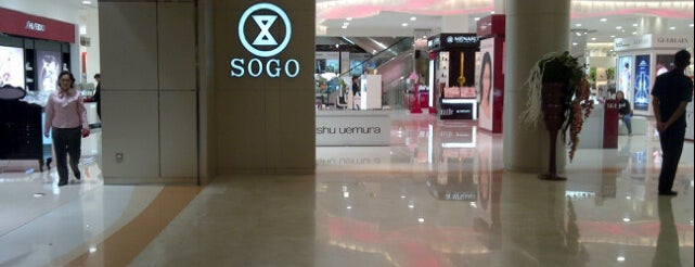 Sogo Department Store is one of Mall @ Alam Sutera Directory.