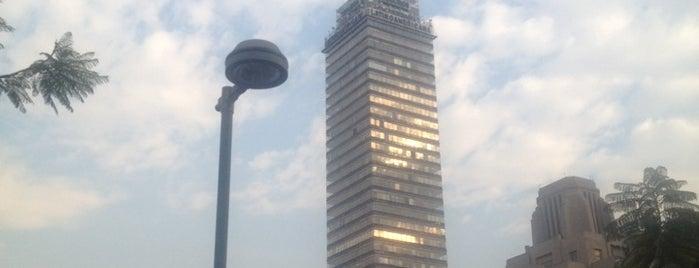Torre Latino Americana is one of Rascacielos en la Ciudad de México..