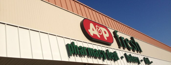 A&P is one of Shopping for NYC dwellers--in NJ!.