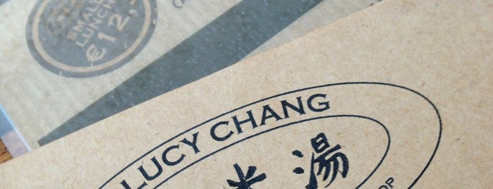 Lucy Chang is one of restos.