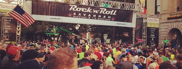 Rock n Roll Savannah Marathon and Half Marathon