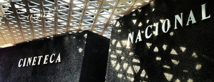 Cineteca Nacional is one of 100 Perfectas Ideas para Dominguear.