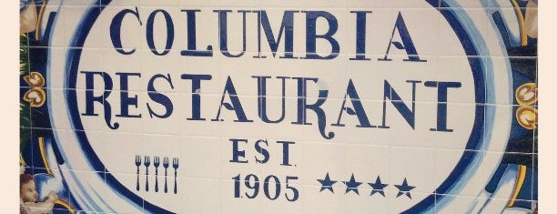 The Columbia Restaurant is one of Favorite Tampa Bay Area Places.