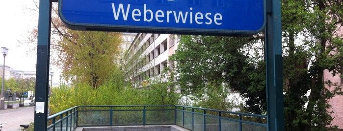U Weberwiese is one of U-Bahn Berlin.