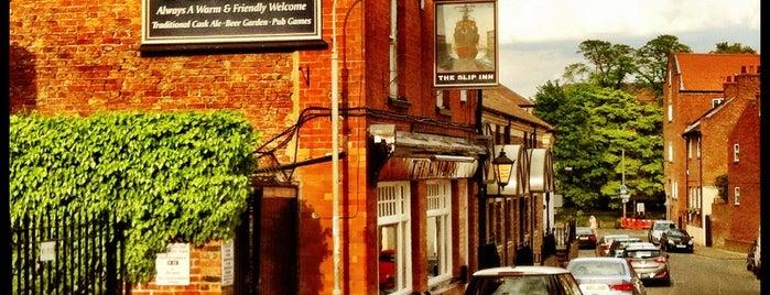 The Slip Inn is one of York's Best Drinking Holes.