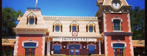 DRR Main Street Station is one of Disneyland Fun!!!.