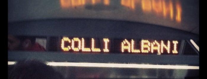 Metro Colli Albani - Parco Appia Antica (MA) is one of Muoversi a Roma.
