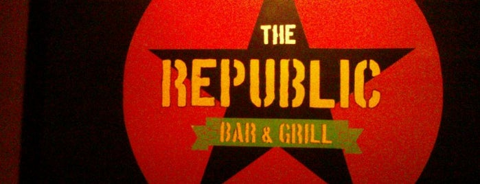 Republic Bar & Grill is one of Quick.