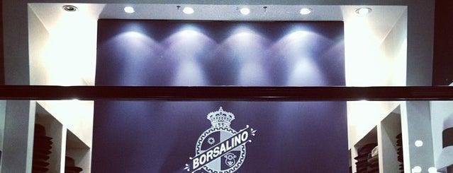 Borsalino is one of Milan City Badge - Milano da bere.