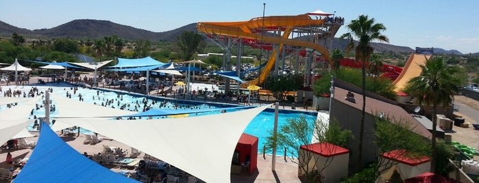 Wet 'n' Wild Phoenix is one of PHX Parks in The Valley.