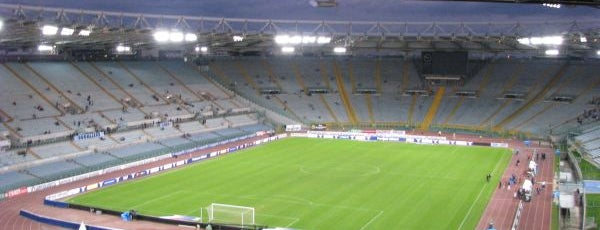 Stadio Olimpico is one of UEFA Champions League finals.