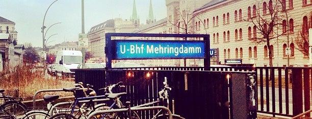 U Mehringdamm is one of Besuchte Berliner Bahnhöfe.
