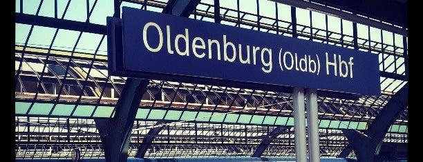 Oldenburg (Oldb) Hauptbahnhof is one of Ausgewählte Bahnhöfe.