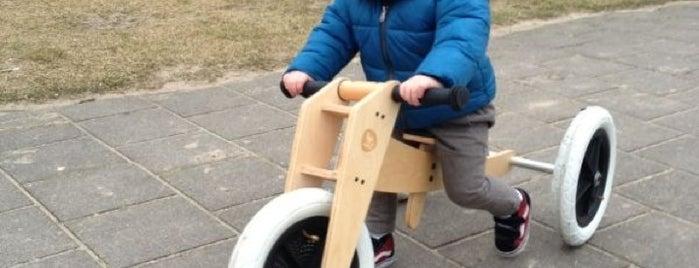 Speeltuin Mariotteplein is one of Op stap met klein.