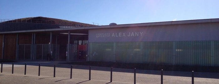 Mes lieux for Piscine alex jany