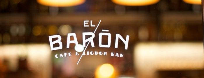 EL BARÓN - Café & Liquor Bar is one of Stevenson's Favorite Whiskey Bars.