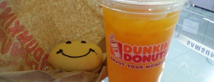 Dunkin' Donuts is one of Work places.