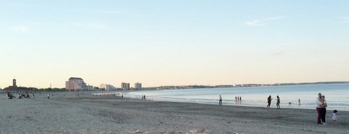 "Revere Beach is one of To the Sea By ""T""."