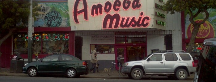 Amoeba San Francisco is one of San Fran!.