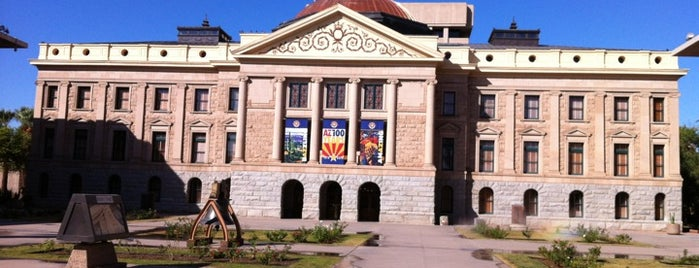 Arizona State Capitol is one of The Crowe Footsteps.