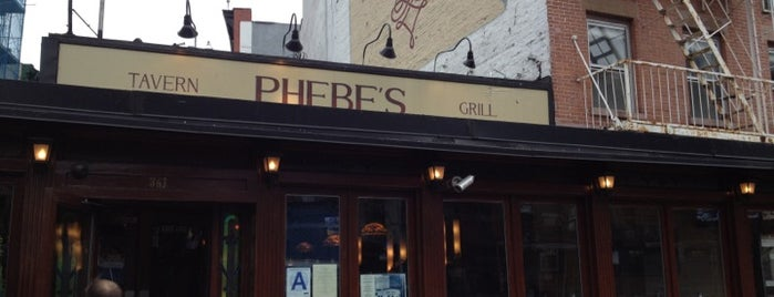 Phebe's is one of Bars.