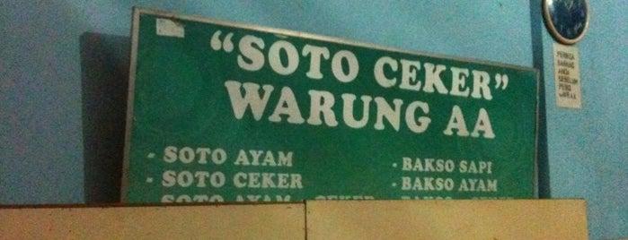 Soto Ceker Warung AA is one of Tempat Makan Maknyus - BALI.