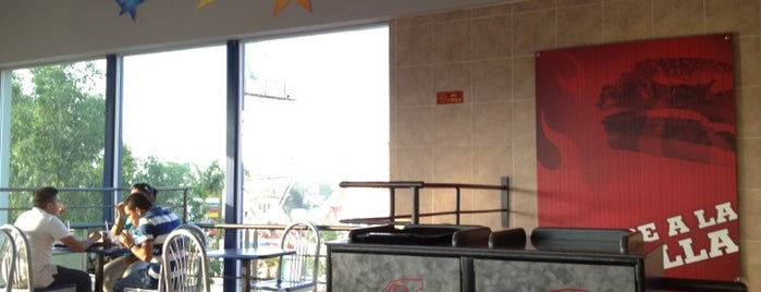 Burger King is one of Comida.