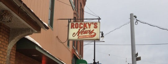 Rockys Cigars is one of Syracuse's Northside Guide.