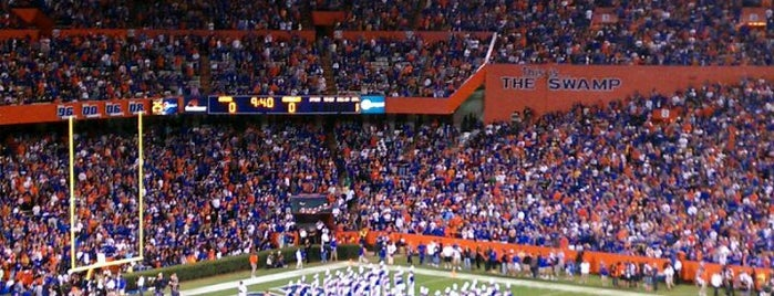 Ben Hill Griffin Stadium is one of University of Florida.
