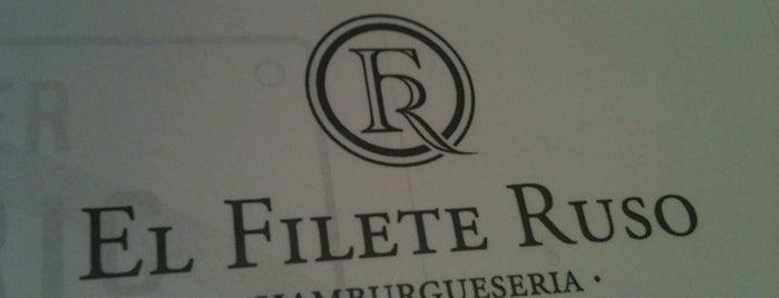 El Filete Ruso is one of Sandwich, hamburguesas y otras cosas rápidas.