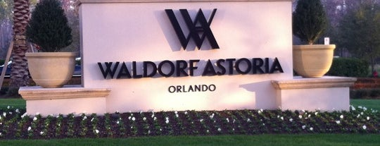 Waldorf Astoria Orlando is one of Dicas de Orlando..