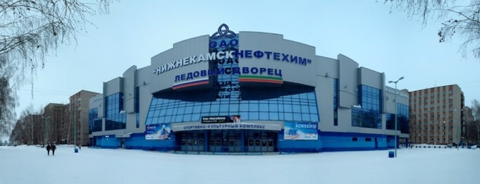 Ледовый дворец is one of JYM Hockey Arenas TOP100.