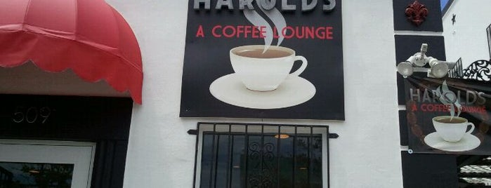 Harold's A Coffee Lounge is one of West Palm Beach.