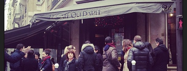 Le Café qui Parle is one of Favorite Food.