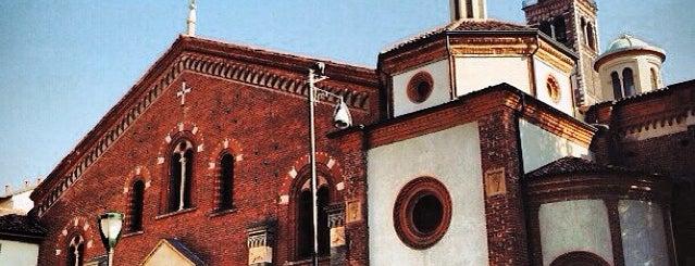 Basilica di Sant'Eustorgio is one of 101Cose da fare a Milano almeno 1 volta nella vita.